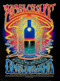 Music Memorabilia:Posters, Alton Kelley Absolut Vodka Poster (1998)....