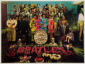 Music Memorabilia:Posters, The Beatles Sgt. Pepper's Lonely Hearts Club Band UncroppedPrint....