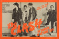 Music Memorabilia:Posters, The Clash French Concert Poster (1978)....