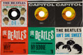 Music Memorabilia:Recordings, Beatles 45 Group of 6 with Picture Sleeves (1964).... (Total: 6 )