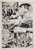 Original Comic Art:Panel Pages, Al Williamson Western page 9 Original Art (c. 1950s)....