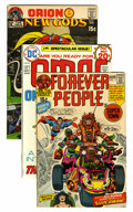 Bronze Age (1970-1979):Miscellaneous, Jack Kirby Bronze Age Comics Group (DC, 1970s) Condition: AverageVF-.... (Total: 18 Comic Books)