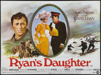 "Ryan's Daughter (MGM, 1970). British Quad (30"" X 40""). Drama"