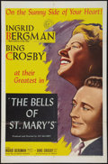 """Movie Posters:Drama, The Bells of St. Mary's (NTA Pictures, R-1957). One Sheet (27"""" X 41""""). Drama.. ..."""