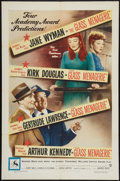 """Movie Posters:Drama, The Glass Menagerie (Warner Brothers, 1950). One Sheet (27"""" X 41"""").Drama.. ..."""