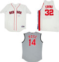 Miscellaneous Collectibles:General, Roger Clemens, Julius Erving and Pete Rose Signed Jerseys Lot of3....