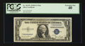 Small Size:Silver Certificates, Solid Serial Number Nine Fr. 1613W $1 1935D Silver Certificate. PCGS Extremely Fine 40.. ...