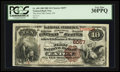 National Bank Notes:Colorado, Eaton, CO - $10 1882 Brown Back Fr. 490 The First NB Ch. # 6057. ...