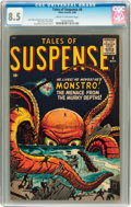 Silver Age (1956-1969):Mystery, Tales of Suspense #8 (Marvel, 1960) CGC VF+ 8.5 Cream to off-whitepages....