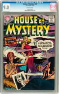 Silver Age (1956-1969):Horror, House of Mystery #69 (DC, 1957) CGC VF/NM 9.0 Off-white pages....