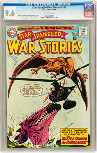 Star Spangled War Stories #115 (DC, 1964) CGC NM+ 9.6 Off-white pages