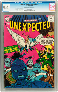Tales of the Unexpected #24 (DC, 1958) CGC NM 9.4 Off-white to white pages