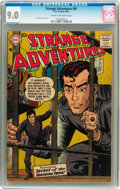 Silver Age (1956-1969):Science Fiction, Strange Adventures #81 (DC, 1957) CGC VF/NM 9.0 Cream to off-white pages....