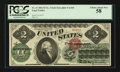 Large Size:Legal Tender Notes, Fr. 41 $2 1862 Legal Tender PCGS Choice About New 58.. ...
