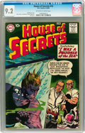 Silver Age (1956-1969):Mystery, House of Secrets #10 (DC, 1958) CGC NM- 9.2 Off-white to whitepages....