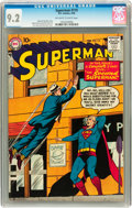 Silver Age (1956-1969):Superhero, Superman #119 (DC, 1958) CGC NM- 9.2 Off-white to white pages....