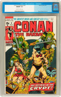 Bronze Age (1970-1979):Adventure, Conan the Barbarian #8 (Marvel, 1971) CGC NM/MT 9.8 Off-white to white pages....