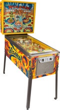 "Movie/TV Memorabilia:Memorabilia, Tommy-Inspired ""Wizard"" Pinball Machine by Bally (1975)...."