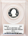Proof Statehood Quarters, 2009-S 25C N. Mariana Isl, Silver PR70 Deep Cameo PCGS. PCGSPopulation (436). NGC Census: (0). Numismedia Wsl. Price for ...