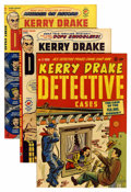 Golden Age (1938-1955):Crime, Kerry Drake Detective Cases File Copies Group (Harvey, 1949-52) Condition: Average VF+.... (Total: 12 Comic Books)