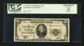 Small Size:Federal Reserve Bank Notes, Low Serial Number Fr. 1870-C* $20 1929 Federal Reserve Bank Note. PCGS Apparent Very Fine 25.. ...