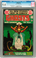 Bronze Age (1970-1979):Horror, Ghosts #7 Savannah pedigree (DC, 1972) CGC NM 9.4 Cream tooff-white pages....