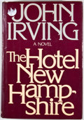 Books:First Editions, John Irving. The Hotel New Hampshire. New York: Dutton,[1981]. First edition. Octavo. Publisher's binding and dust ...