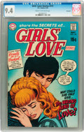 Bronze Age (1970-1979):Romance, Girls' Love Stories #151 Savannah pedigree (DC, 1970) CGC NM 9.4Cream to off-white pages....
