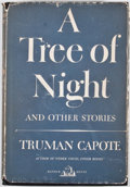 Books:First Editions, Truman Capote. A Tree of Night. New York: Random House,[1949]. First edition. Octavo. Publisher's binding and dust ...