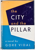 Books:First Editions, Gore Vidal. The City and the Pillar. New York: Dutton, 1948.First edition. Octavo. Publisher's binding and dust jac...