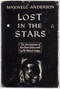 Books:First Editions, Maxwell Anderson. Lost in the Stars. [New York]: WilliamSloane, [1950]. First edition, first printing. Octavo. Publ...
