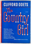 Books:First Editions, Clifford Odets. The Country Girl. New York: Viking Press,1951. First edition, first printing. Octavo. Publisher's b...