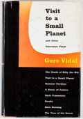 Books:First Editions, Gore Vidal. Visit to a Small Planet and Other TelevisionPlays. Boston: Little, Brown, [1956]. First edition, first ...