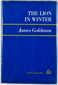 Books:First Editions, James Goldman. The Lion in Winter. New York: Random House,[1966]. First edition. Octavo. Publisher's binding an...