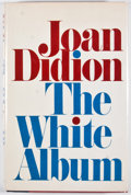 Books:First Editions, Joan Didion. The White Album. New York: Simon and Schuster,[1979]. First edition, first printing. Octavo. Publisher...