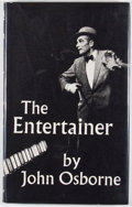 Books:First Editions, John Osborne. The Entertainer. London: Faber and Faber,[1957]. First edition. Octavo. Publisher's binding and dust ...