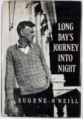 Books:First Editions, Eugene O'Neill. Long Day's Journey Into Night. New Haven:Yale University Press, 1956. First edition. Octavo. Publis...