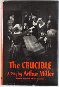 Books:First Editions, Arthur Miller. The Crucible. New York: Viking Press, 1953.First edition. Octavo. Publisher's binding and dust j...