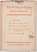 Books:First Editions, Edith Wharton. The Writing of Fiction. New York: CharlesScribner's Sons, 1925. First edition. Octavo. Publisher...