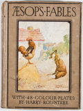 Books:Children's Books, Blanche Winder. Aesop's Fables. London: Ward, Lock, [n. d.]. Octavo. Publisher's binding. Color plates by Harry Ro...