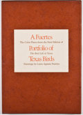 "Books:First Editions, Louis Agassiz Fuertes. SIGNED/LIMITED. A Fuertes Portfolio ofTexas Birds: The Color Plates from the First Edition of ""T..."