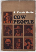 Books:Signed Editions, J. Frank Dobie. INSCRIBED. Cow People. Boston: Little, Brown, [1964]. First edition. Inscribed by Bertha Dobie. ...