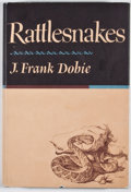 Books:Signed Editions, J. Frank Dobie. INSCRIBED. Rattlesnakes. Boston: Little, Brown, [1965]. First edition. Inscribed by Bertha McKee D...