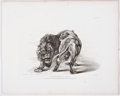 Antiques:Posters & Prints, Thomas Landseer, engraver. Six Engravings of Lions From TwentyEngravings of Lions, Tigers, Panthers & Leopards. Lon...(Total: 5 Items)