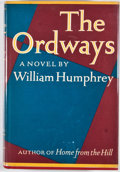 Books:First Editions, William Humphrey. The Ordways. New York: Knopf, 1965. Firstedition, first printing. Octavo. Publisher's binding and...