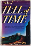 Books:First Editions, Laura Krey. And Tell of Time. Boston: Houghton Mifflin,1938. First edition, first printing. Octavo. Publisher's...