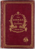 Books:First Editions, George Wharton James. The H. M. M. B. A. in California.Pasadena: G. Wharton James, 1896. First edition. Octavo. Pub...