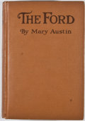 Books:First Editions, Mary Austin. The Ford. Boston: Houghton Mifflin, 1917. Firstedition. Octavo. Publisher's binding. Mild rubbing ...