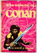 Books:First Editions, Robert E. Howard. The Coming of Conan. New York: GnomePress, [1953]. First edition. Octavo. Publisher's binding...
