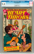 Bronze Age (1970-1979):Romance, Heart Throbs #139 Savannah pedigree (Quality/DC, 1972) CGC NM 9.4Cream to off-white pages....